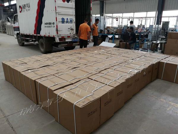 58台水箱自洁器发货